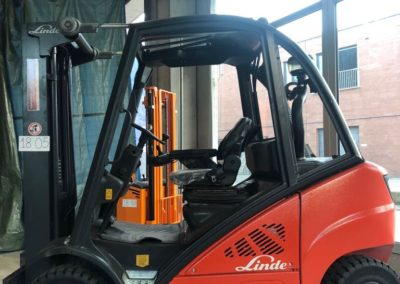Linde H 20 D 20 quintali diesel